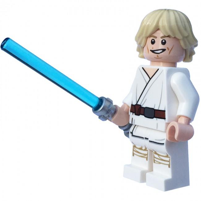 Lego Luke Skywalker lego star wars luke skywalker minifigure - sw551 ...